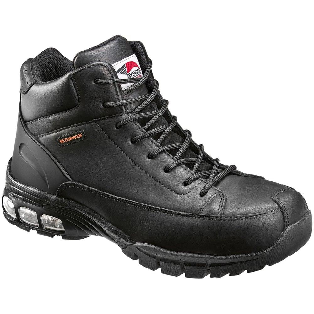 AVENGER Men's 7244 Composite Toe Waterproof Work Boot - BLACK