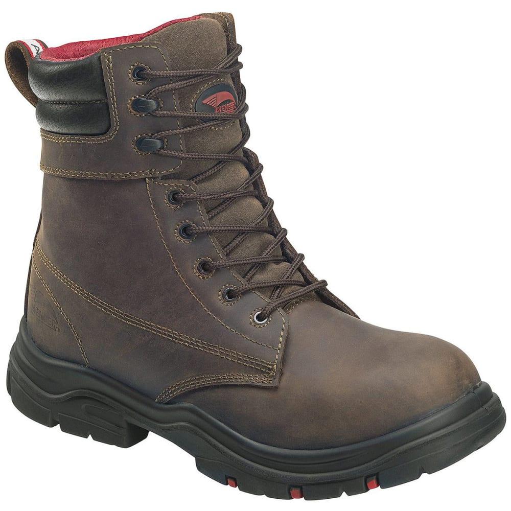 AVENGER Men's Hoss 7266 Composite Toe 8 in. Waterproof Workboots, Brown - BROWN