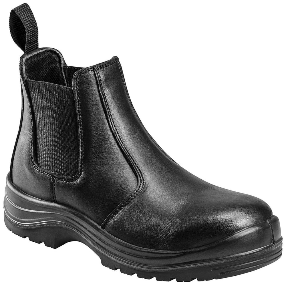 AVENGER Men's 7408 Composite Toe Romeo Work Boots - BLACK