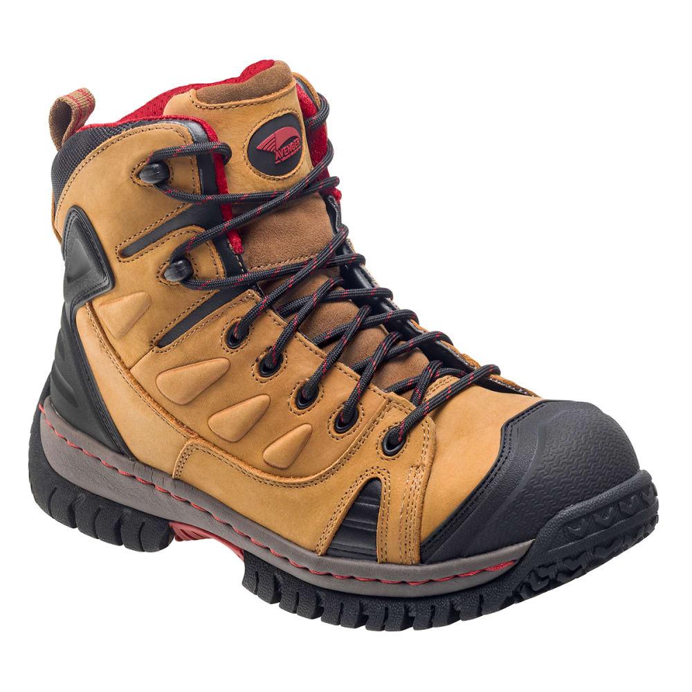 AVENGER Men's 7722 Steel Toe Waterproof Work Boot, Wide - BROWN