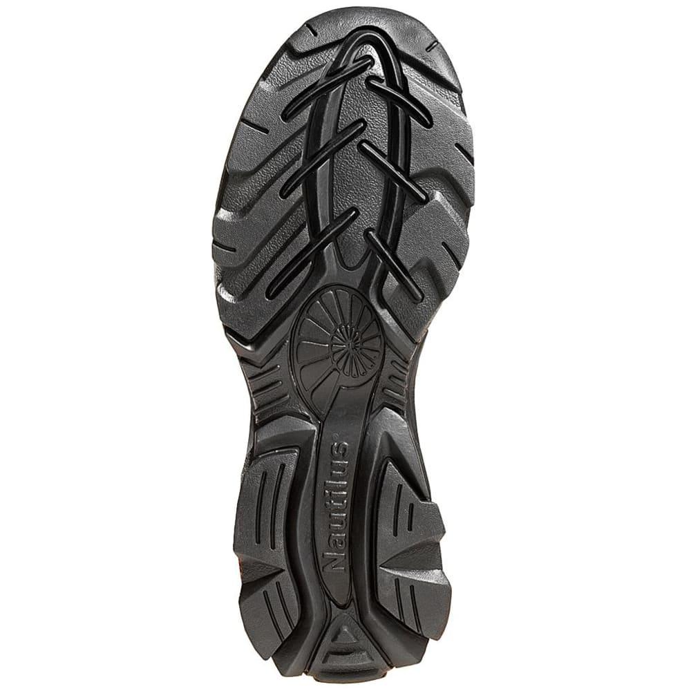NAUTILUS Men's 1620 Steel Toe Slip-on Work Shoe - BROWN