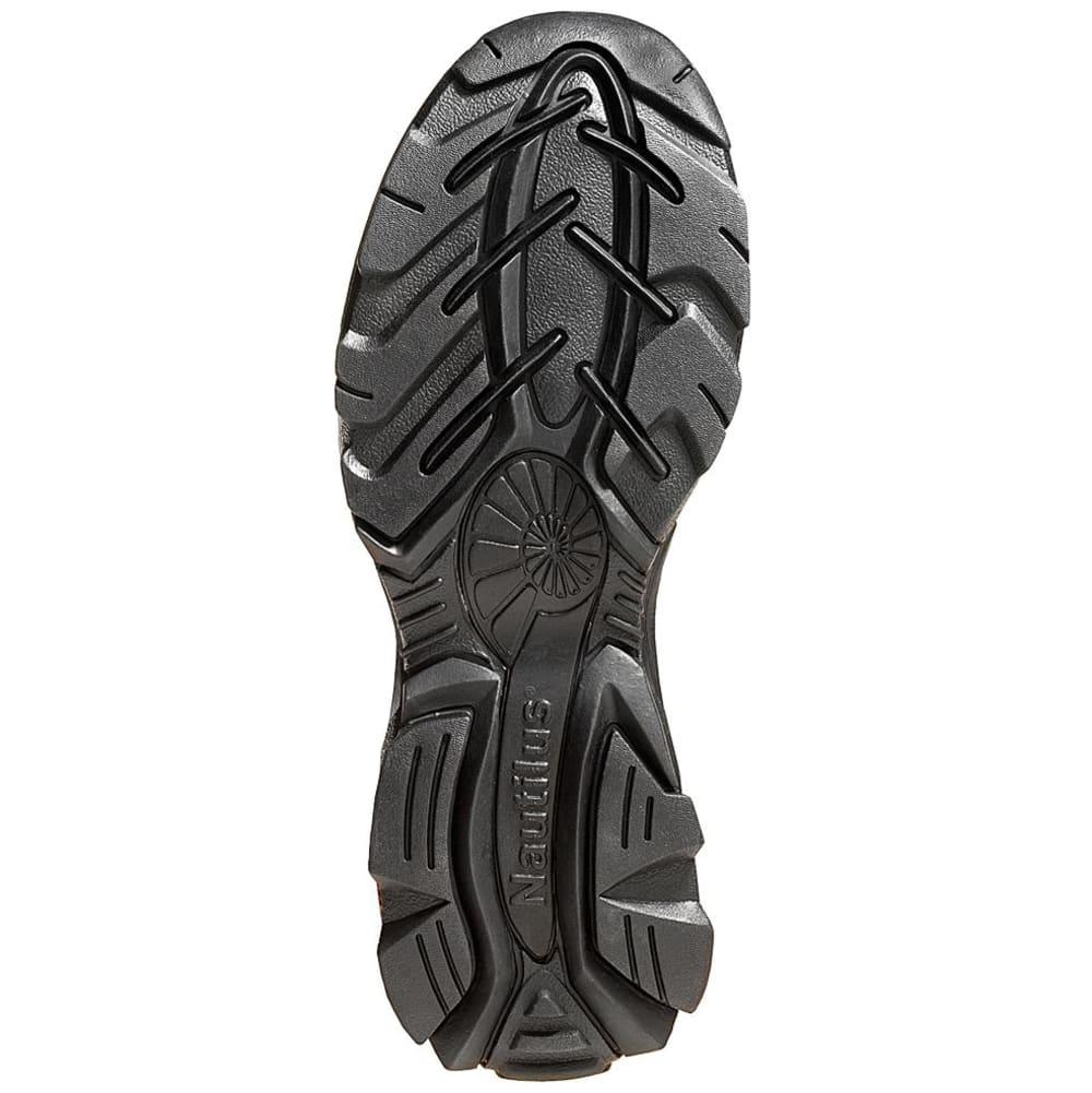 NAUTILUS Men's 1620 Steel Toe Slip-on Work Shoe, Wide - BROWN