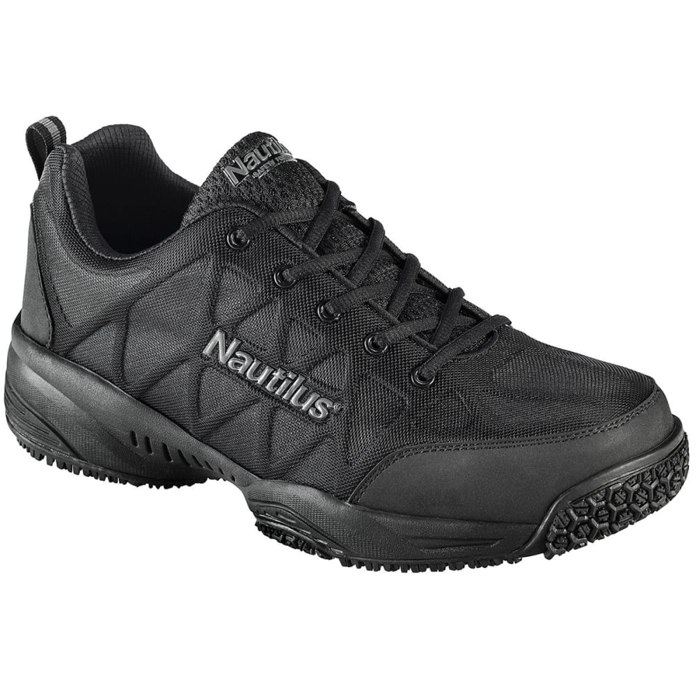 NAUTILUS Men's 2114 Composite Toe Athletic Work Shoes - BLACK
