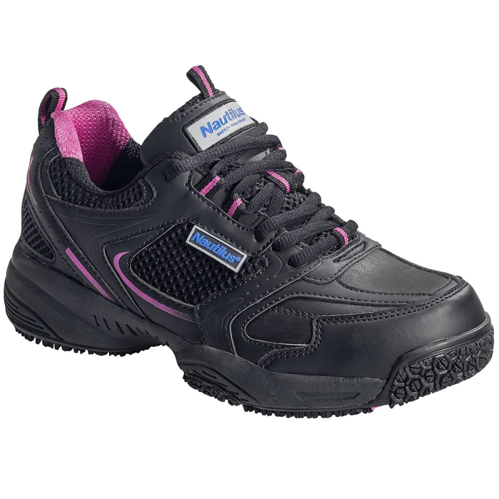 NAUTILUS Women's 2151 Steel Toe Work Shoes - BLACK