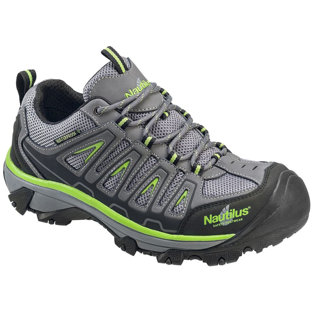 NAUTILUS Men's 2208 Steel Toe Waterproof Hiker, Wide - GREY