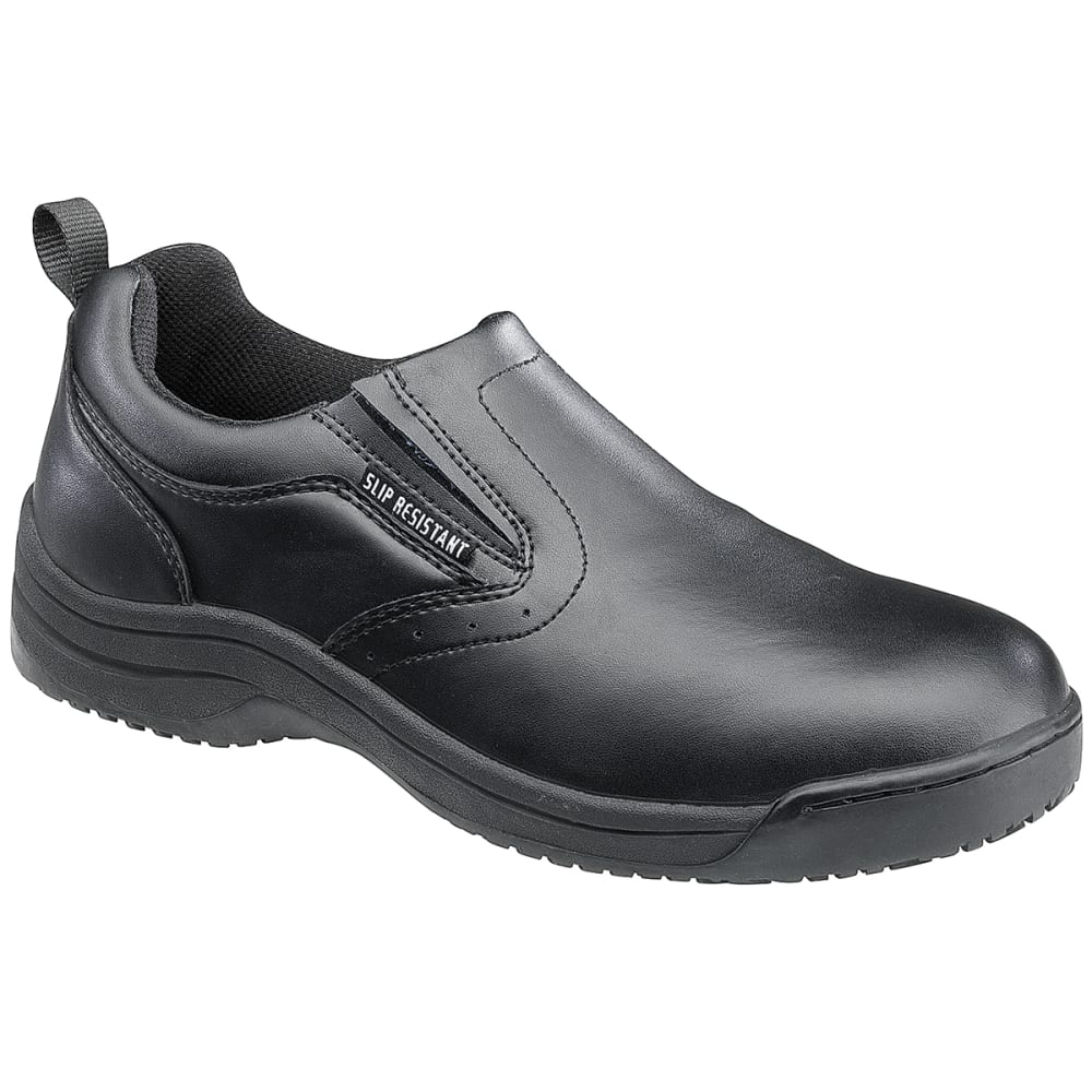 SKIDBUSTER Men's 5072 Slip-Resistant Slip-On Shoes, Medium Width - BLACK
