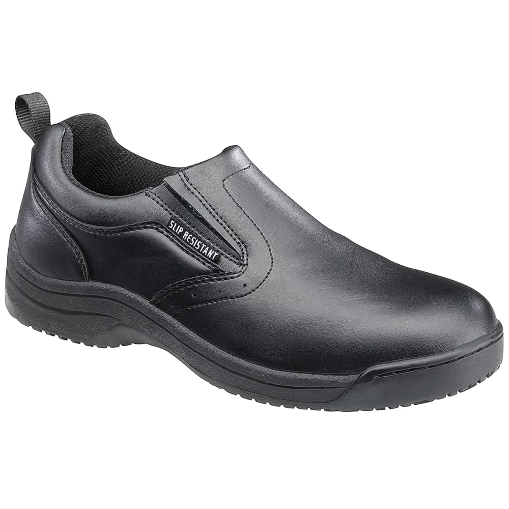 SKIDBUSTER Women's 5077 Slip-Resistant Slip-On Shoes, Wide - BLACK