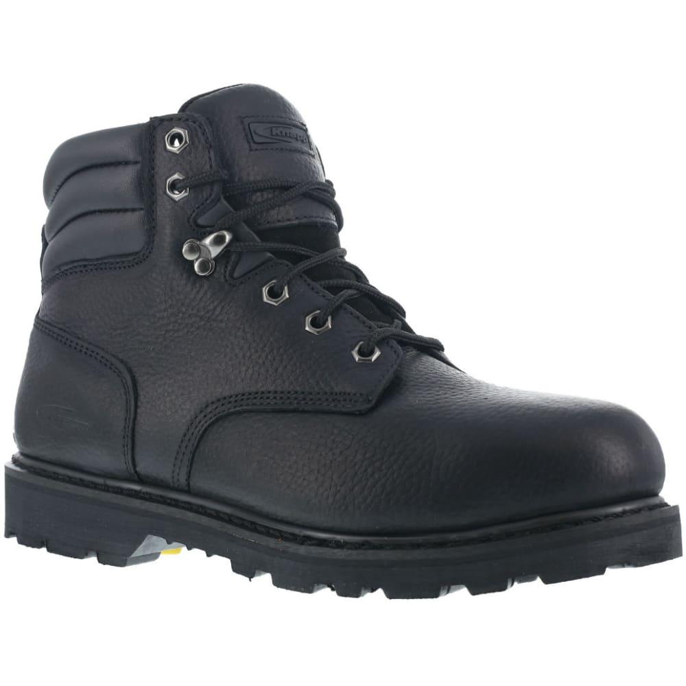 KNAPP Men's Backhoe Steel Toe Work Boots, Wide Width 6