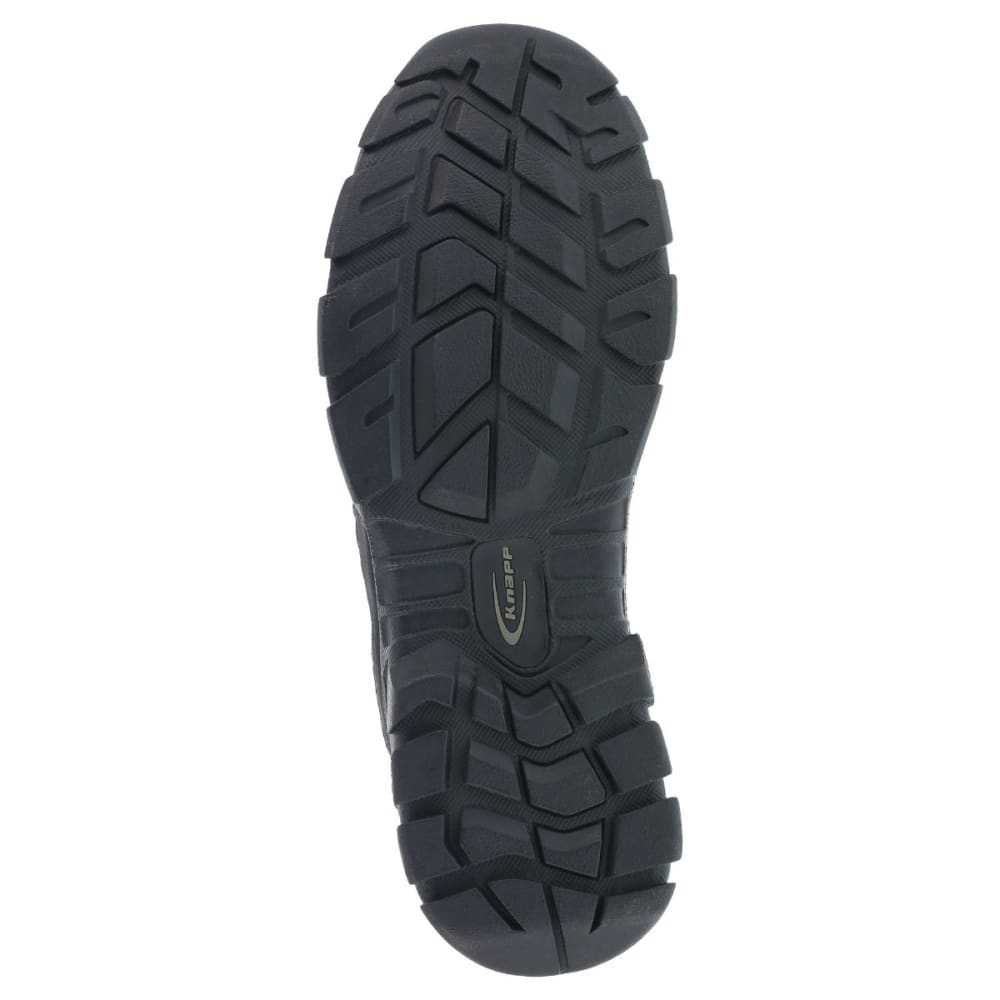 KNAPP Men's Ground Patrol Composite Toe Hiking Boots, Wide Width - BLACK