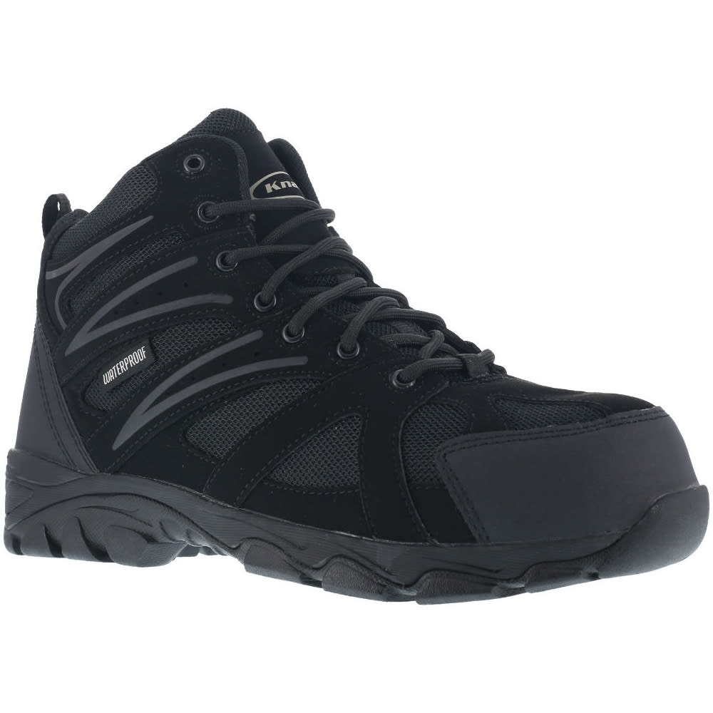 KNAPP Men's Ground Patrol Composite Toe Hiking Boots, Wide Width 7