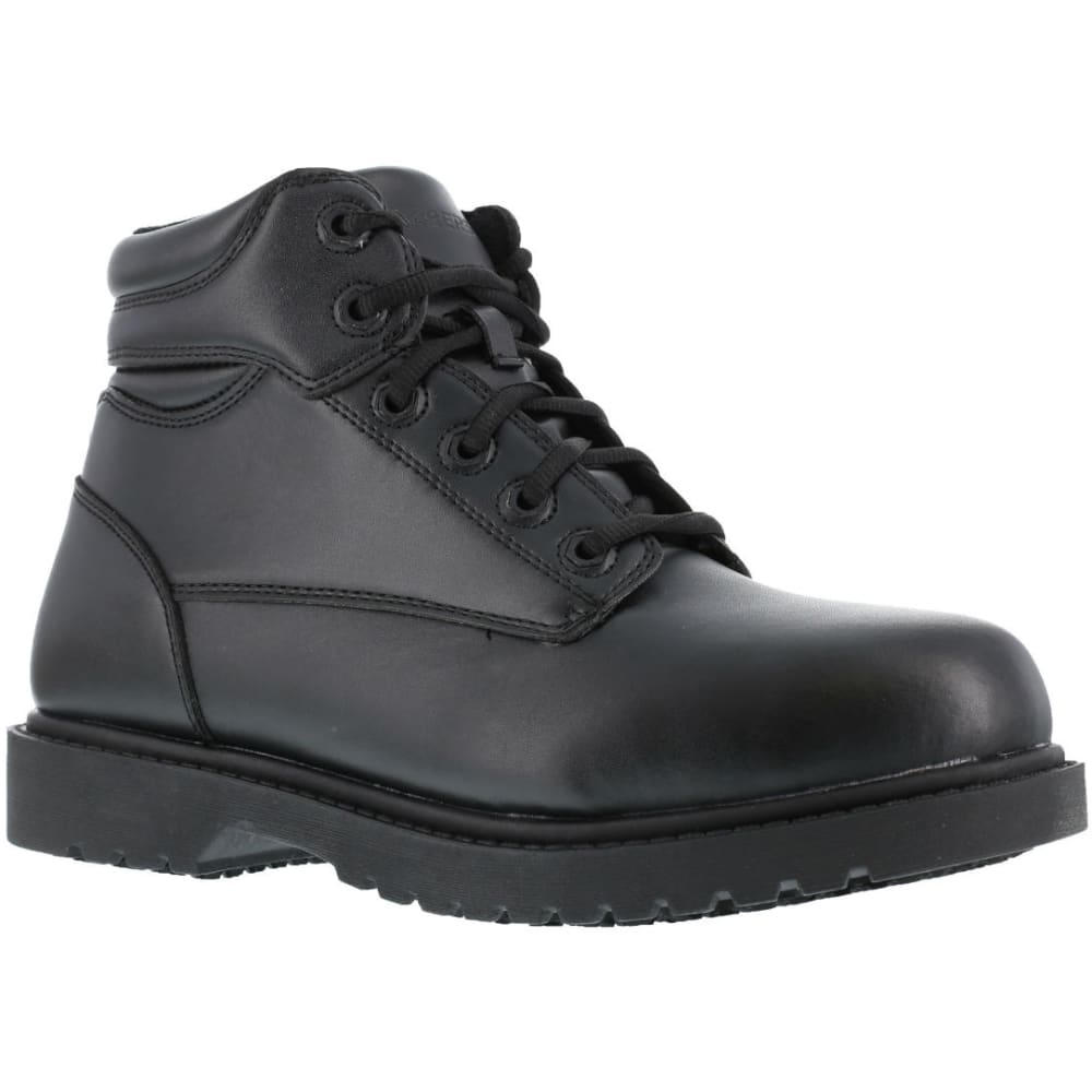 "GRABBERS Men's Kilo 6"" Work Boots - BLACK"