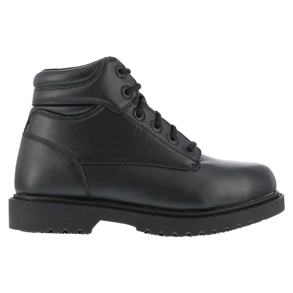 "GRABBERS Men's Kilo 6"" Work Boots, Wide Width - BLACK"