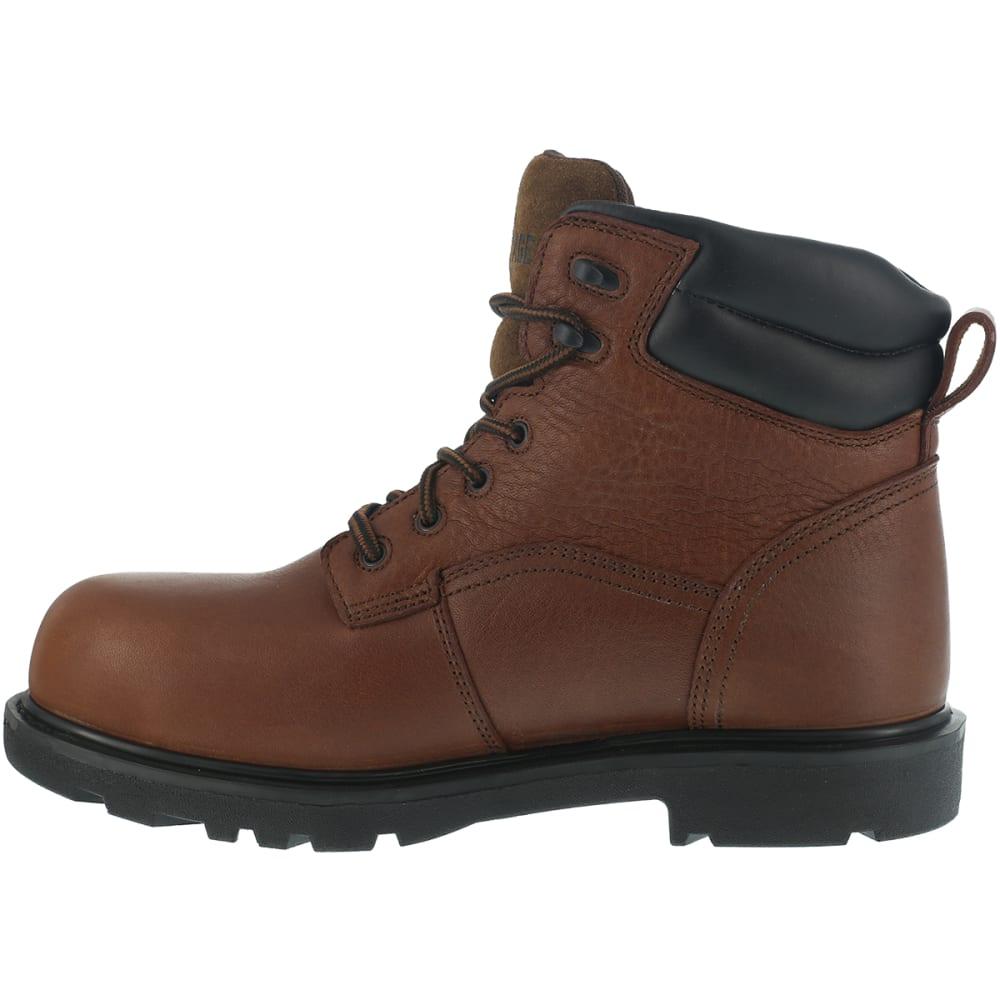 IRON AGE Men's Hauler Waterproof Work Boots, Wide Width - BROWN
