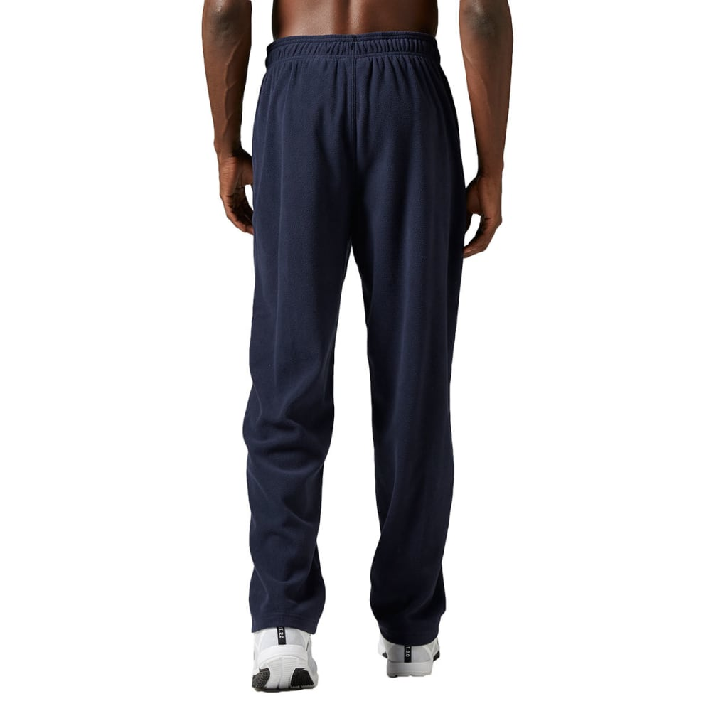REEBOK Men's Light Micro-Fleece Pants - NAVY HEATHER -BH4721