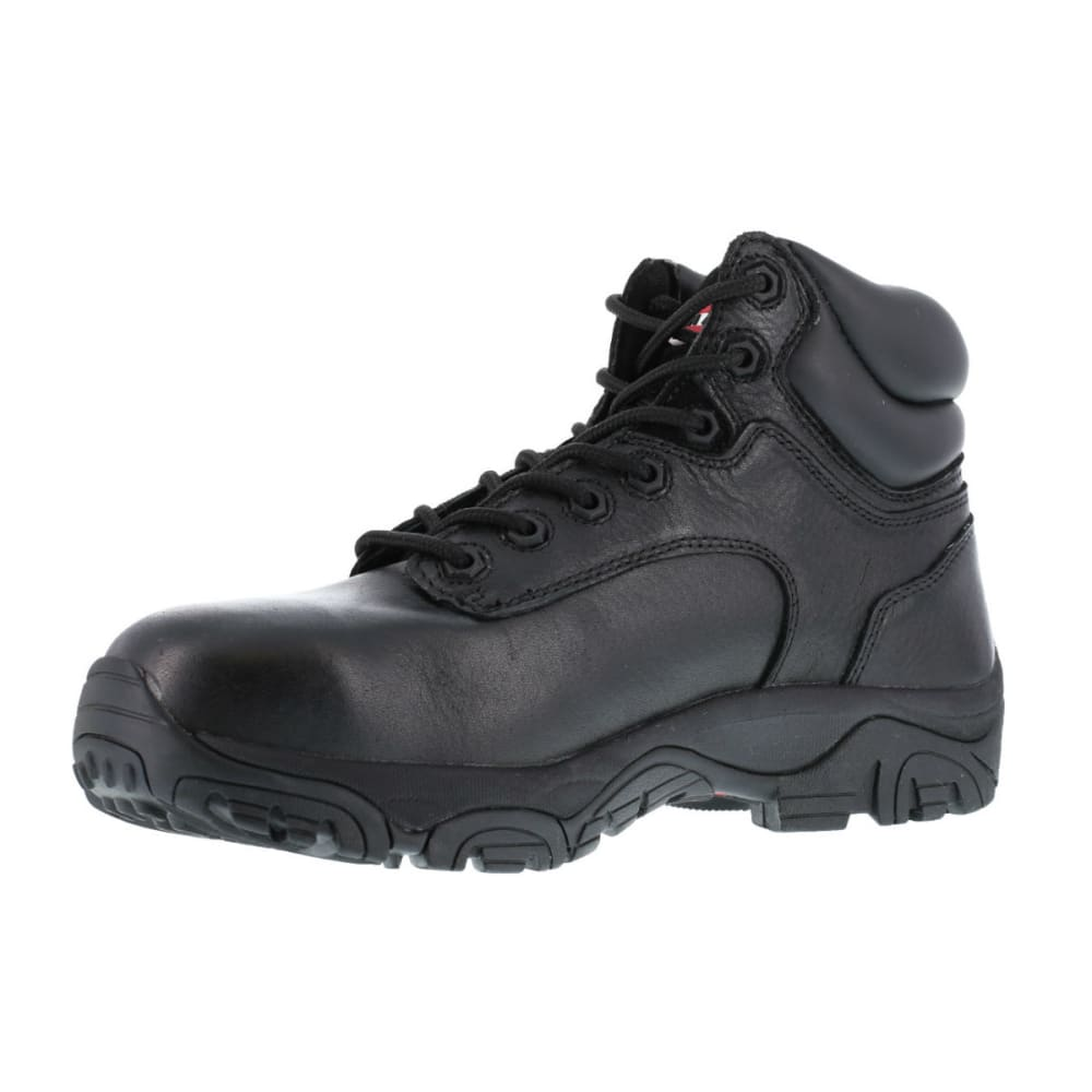 IRON AGE Men's Trencher Work Boots, Wide Width - BLACK