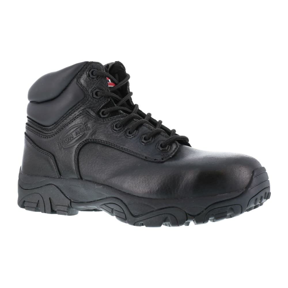 IRON AGE Men's Trencher Work Boots, Wide Width 4.5