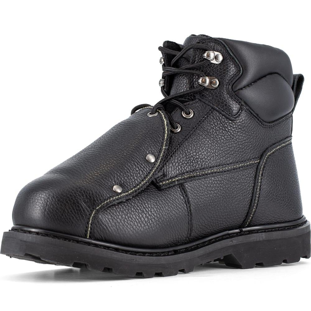 IRON AGE Men's Ground Breaker Work Boots - BLACK