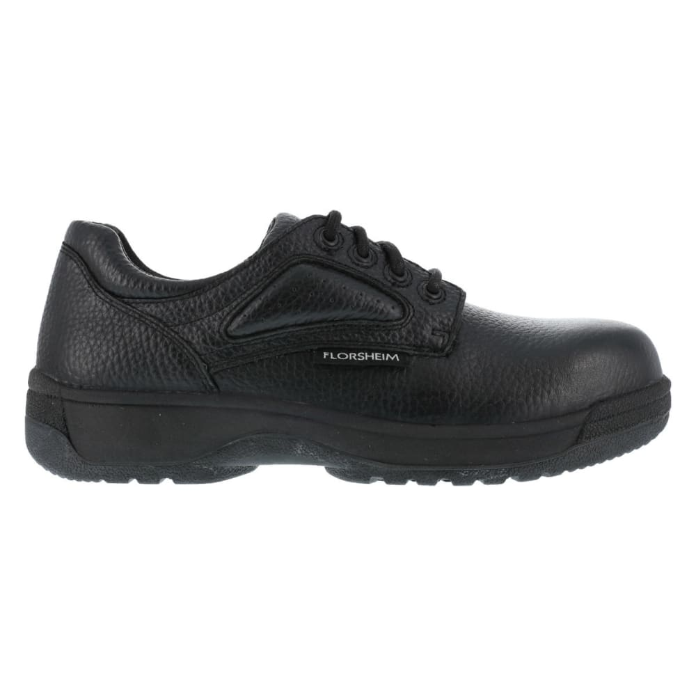 FLORSHEIM Men's Work Fiesta Shoes - BLACK
