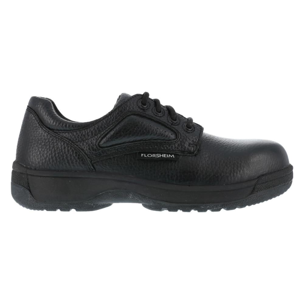 FLORSHEIM Men's Work Fiesta Shoes - BLACK