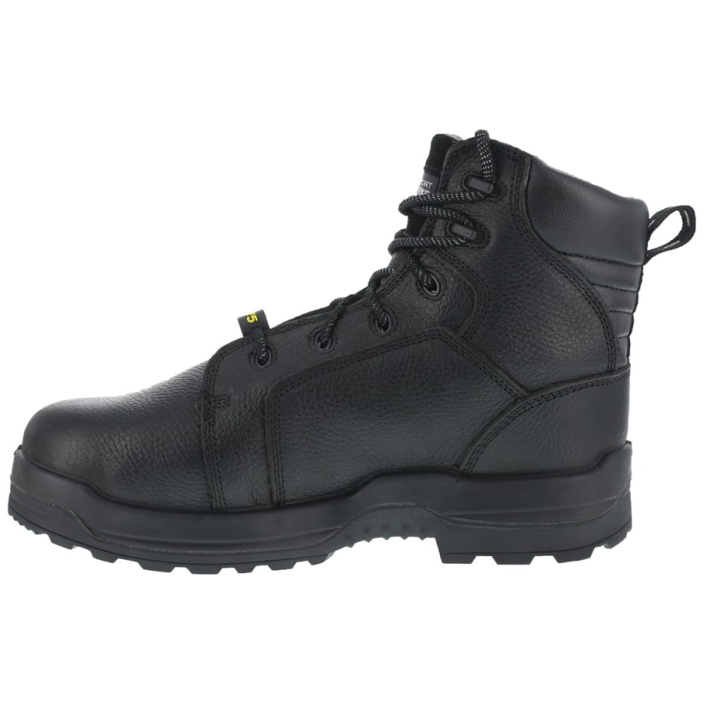 ROCKPORT WORKS Men's More Energy Work Boots, Wide - BLACK
