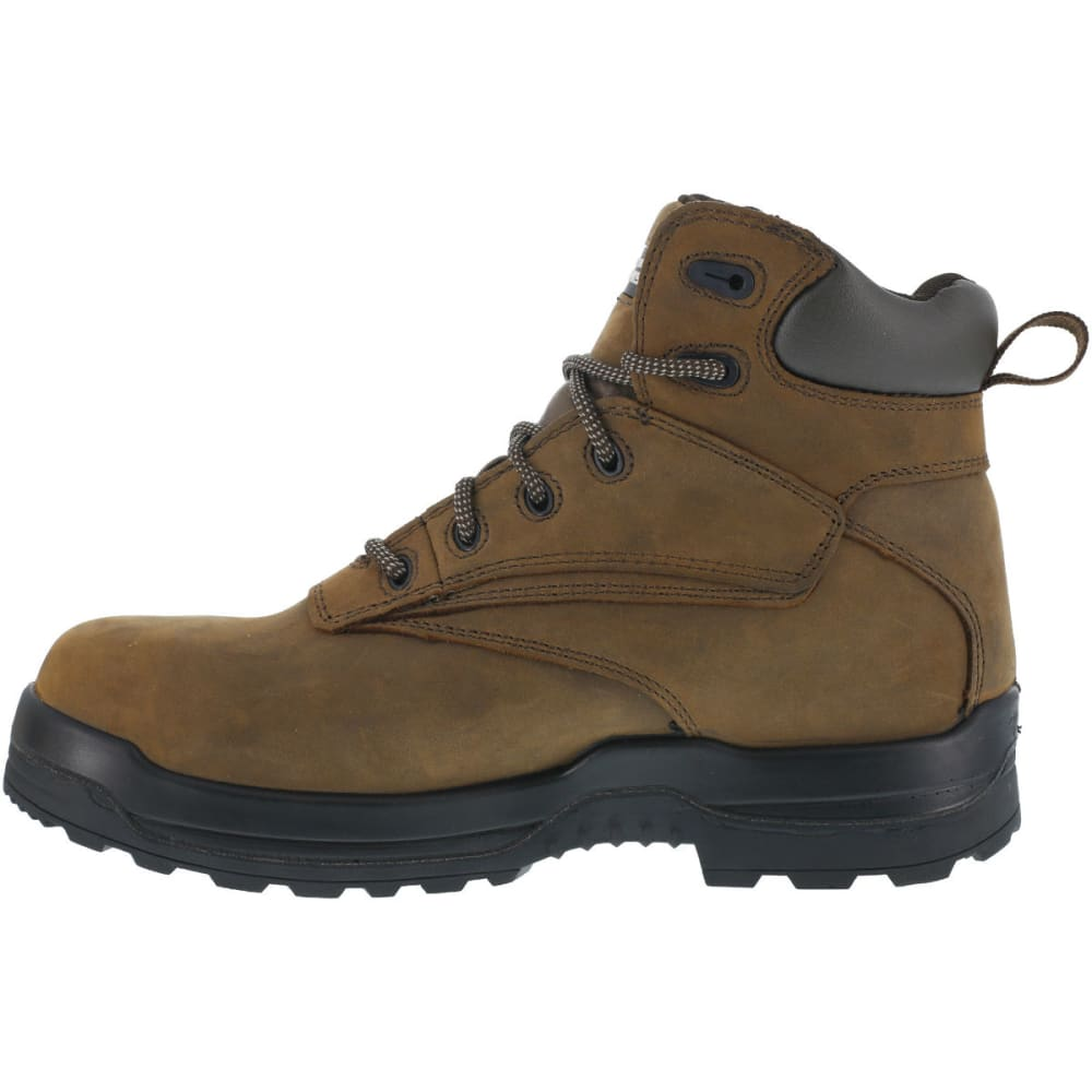 ROCKPORT WORKS Men's More Energy Work Boots, Wide - BROWN