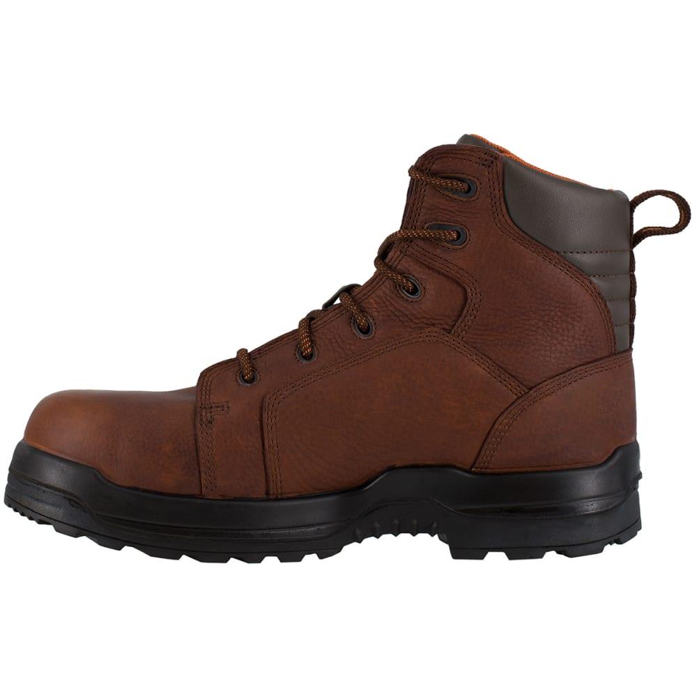 ROCKPORT WORKS Men's More Energy Work Boots - DARK BROWN