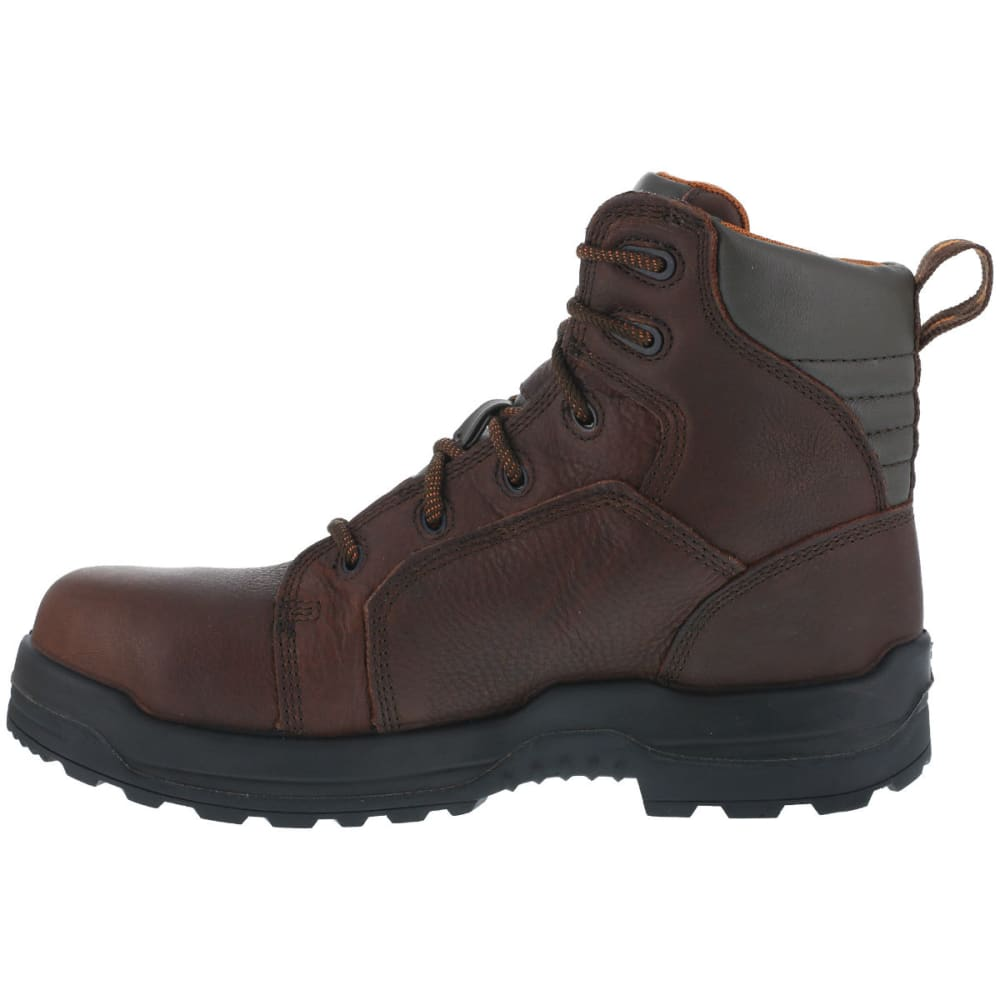 ROCKPORT WORKS Men's More Energy Work Boots - DARK BROWN