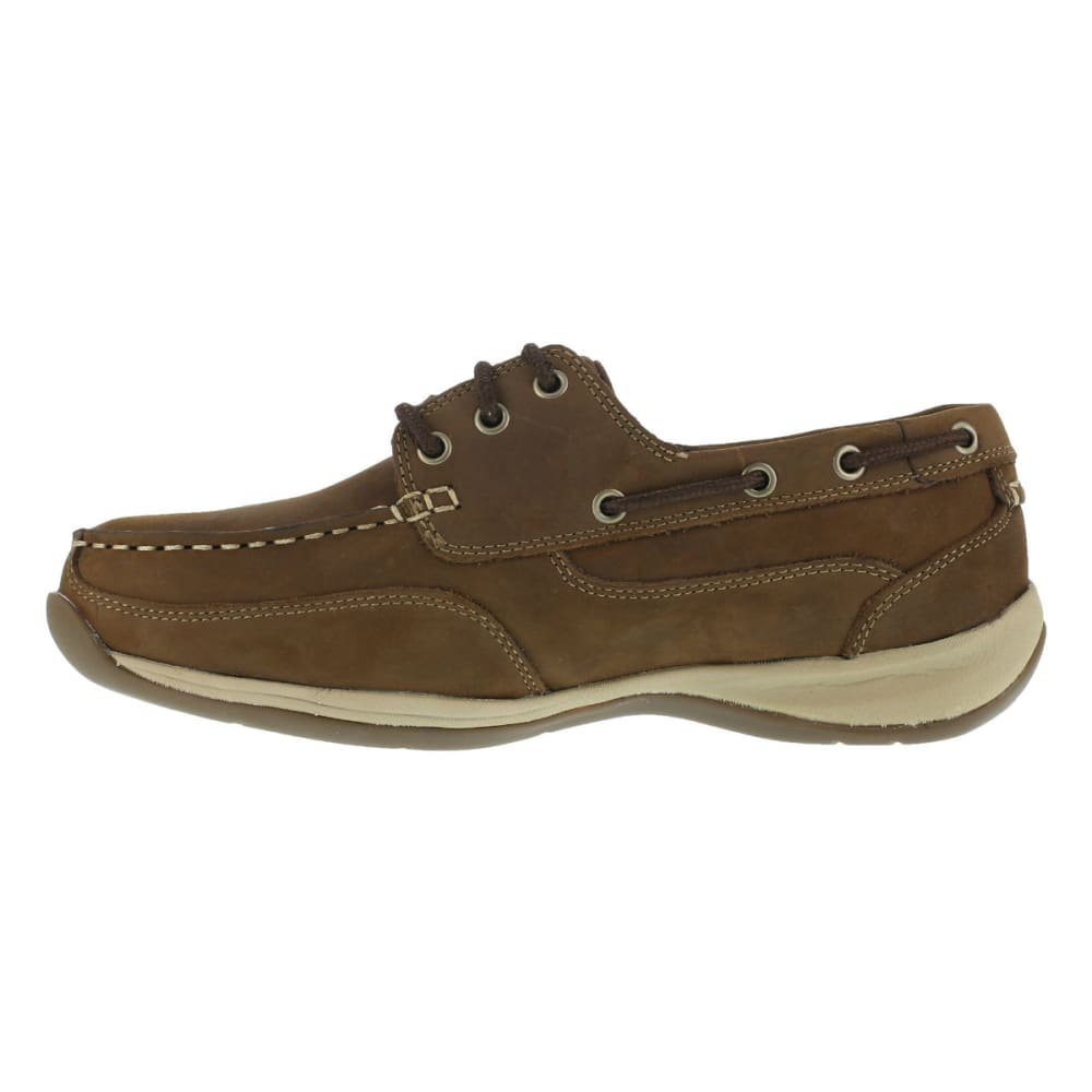 ROCKPORT Men's Sailing Club Shoes, Wide - BROWN