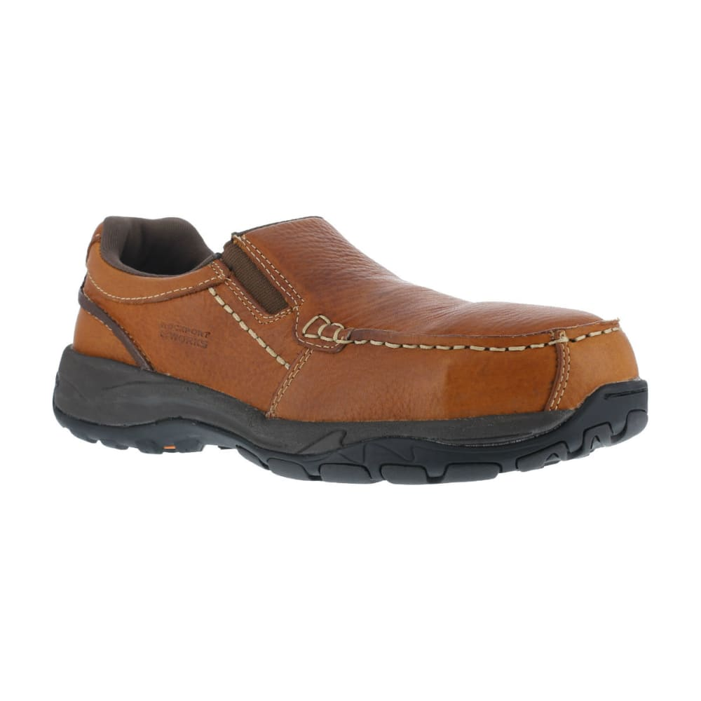 ROCKPORT WORKS Men's Extreme Light Shoes - BROWN