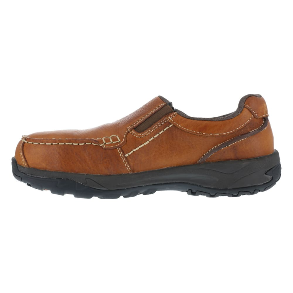 ROCKPORT WORKS Men's Extreme Light Shoes, Wide - BROWN