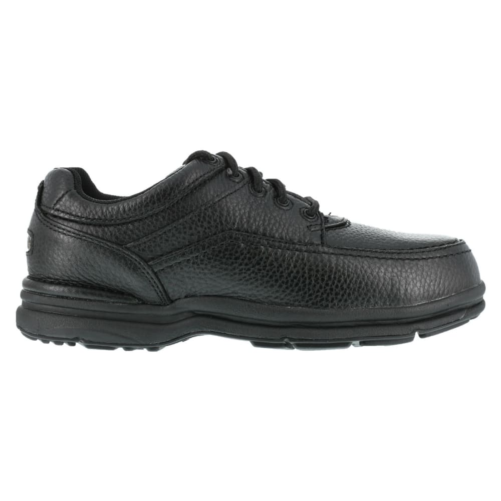 ROCKPORT Men's World Tour Steel Toe ESD Shoes - BLACK