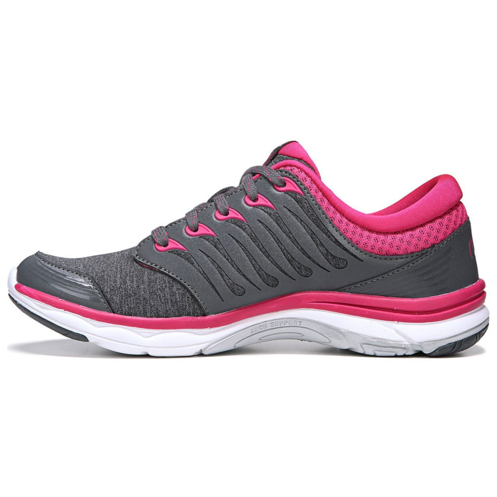 RYKA Women's Flora Walking Shoes - GREY/PINK