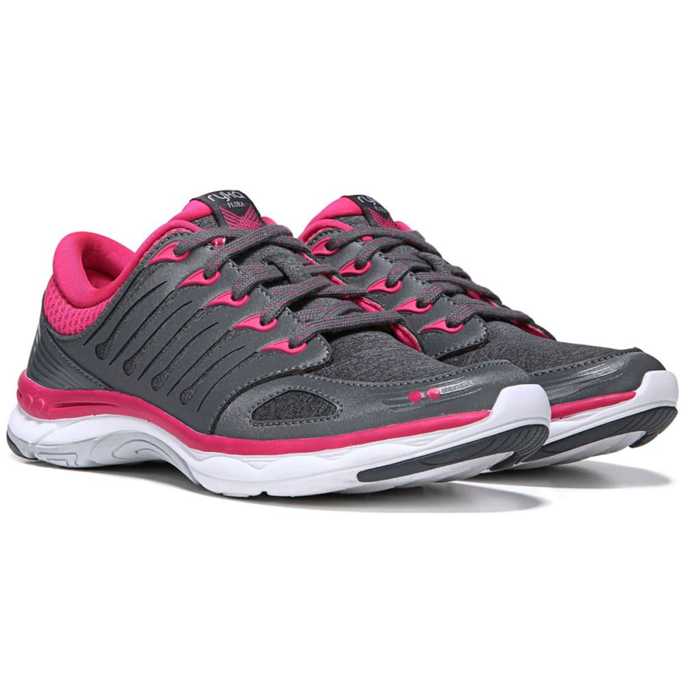 RYKA Women's Flora Walking Shoes - GREY/PINK