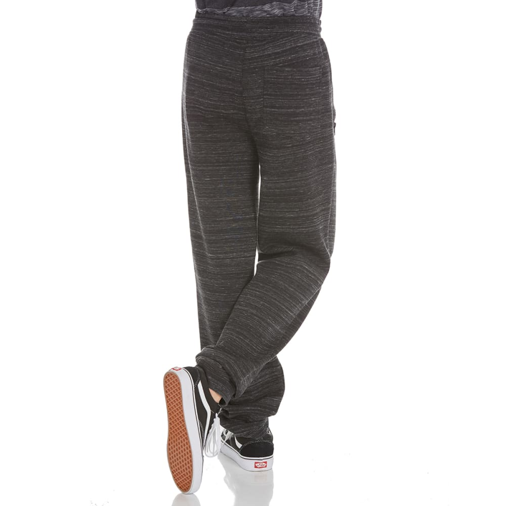 OCEAN CURRENT Guys' Dynamic Tech Fleece Jogger Pants - BLACK