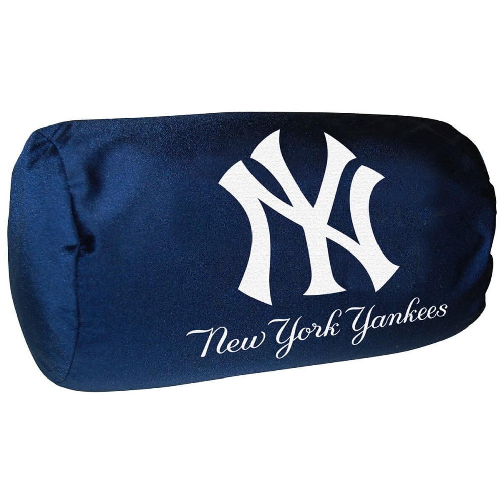 NEW YORK YANKEES Bolster Pillow - WHITE