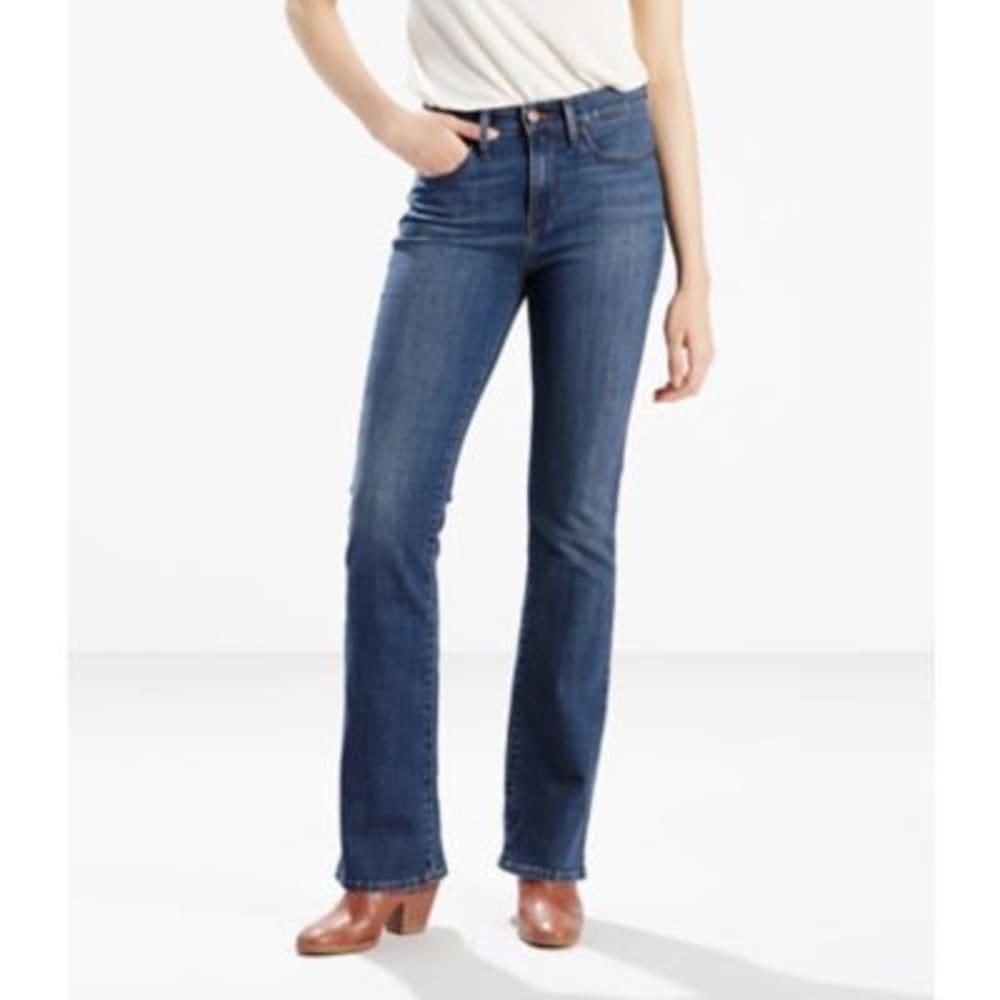 LEVI'S Women's Slimming Boot Cut Jeans - SCENIC DRIVE 0000