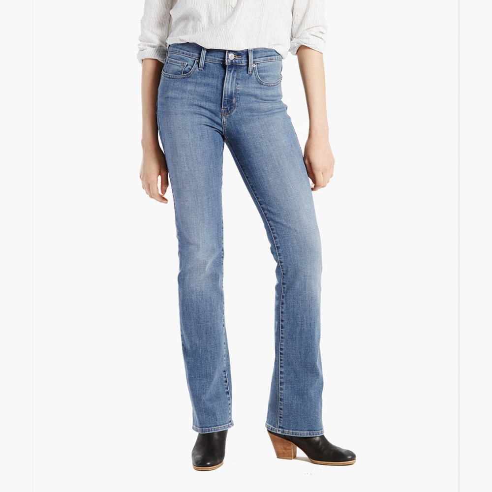 LEVI'S Women's Slimming Boot Cut Jeans - LOVERS POINT 0003