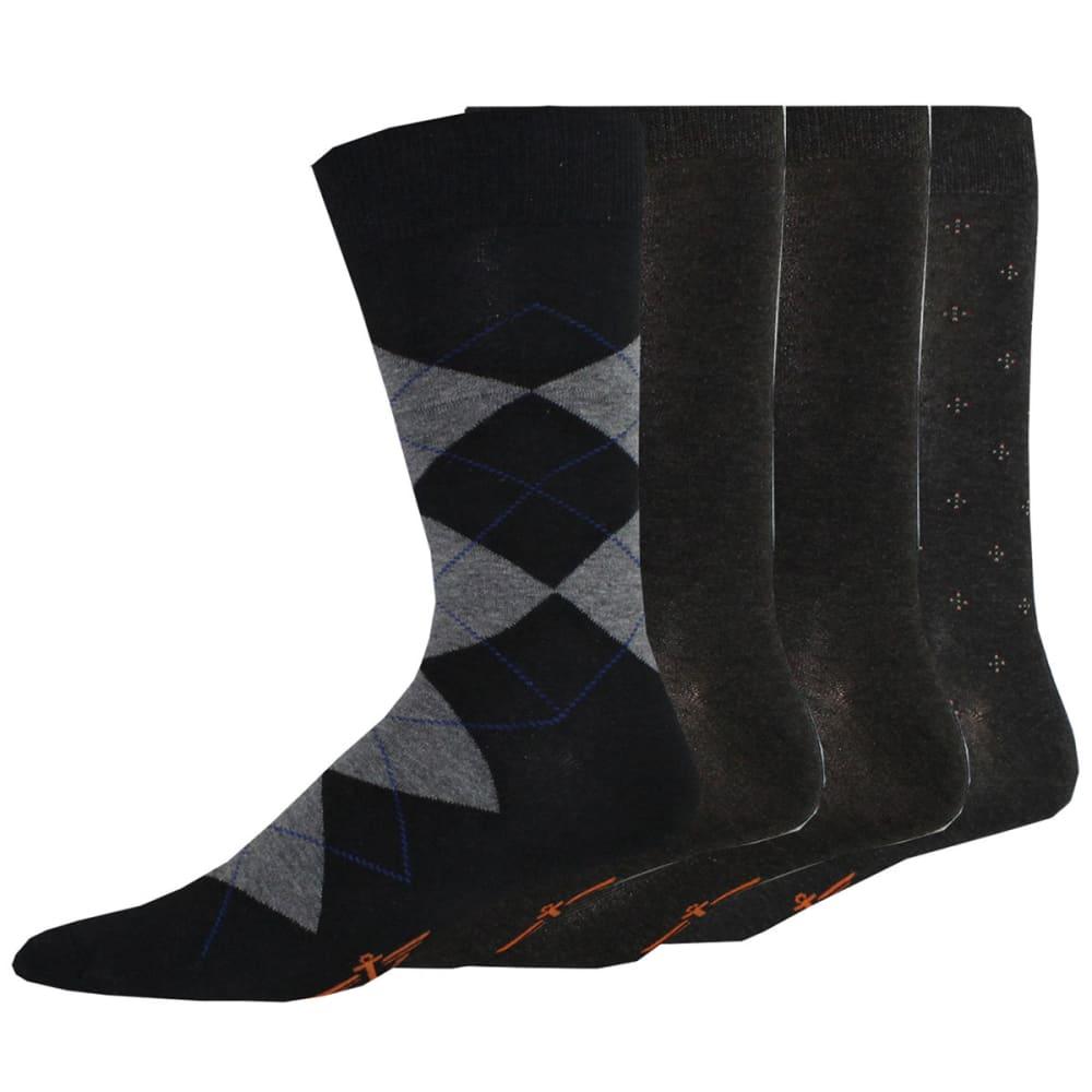 DOCKERS Men's Dress Argyle Socks, 4 Pack 10-13