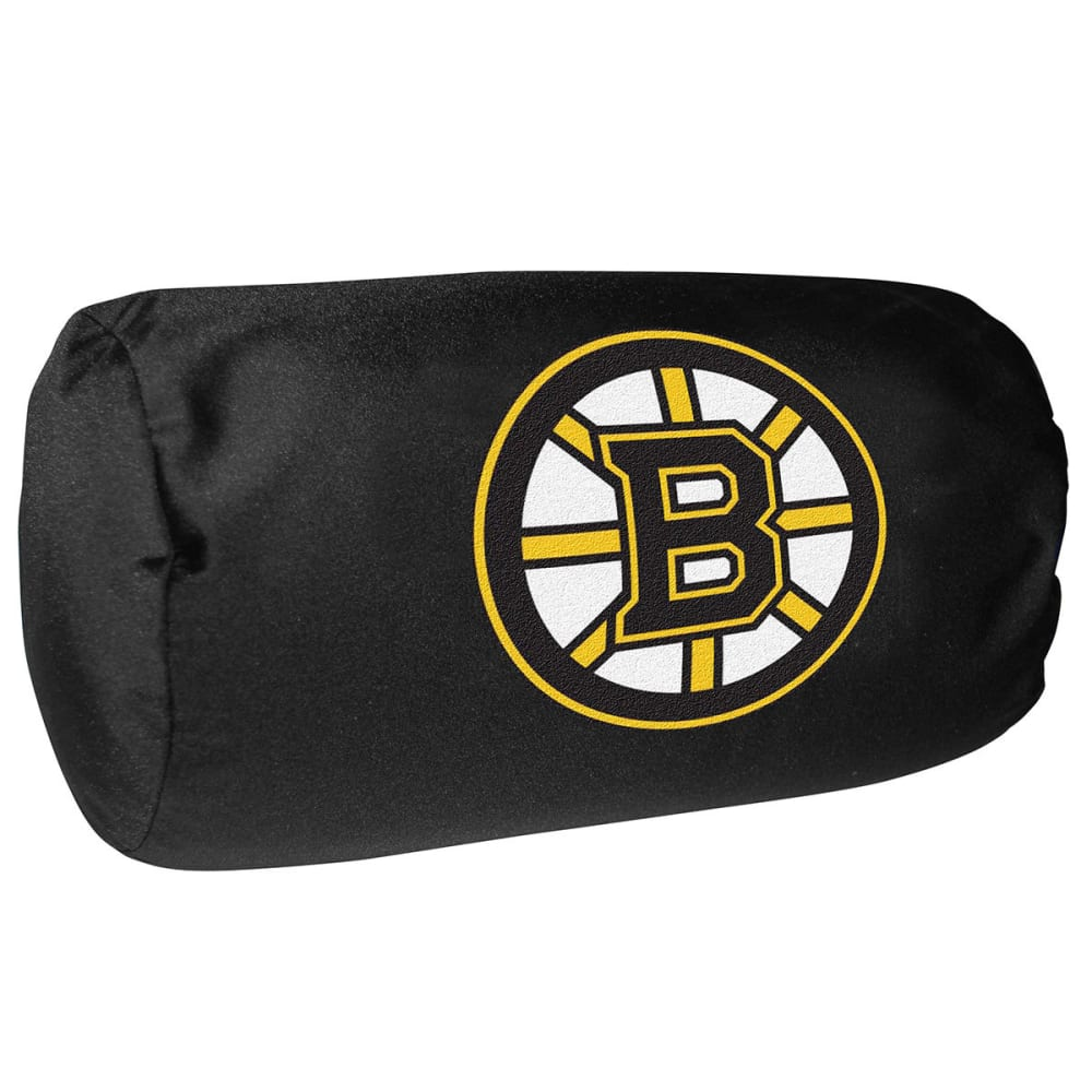 BOSTON BRUINS Bolster Pillow - BLACK