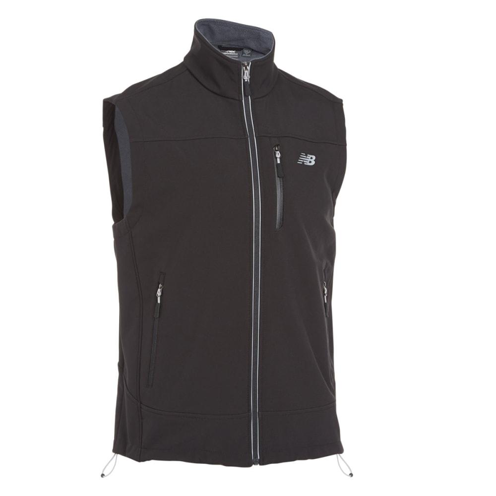 NEW BALANCE Men's Soft Shell Vest - BLACK