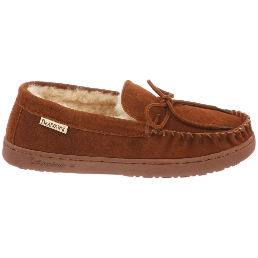 BEARPAW Women's Mindy Moccasin Slippers - HICKORY