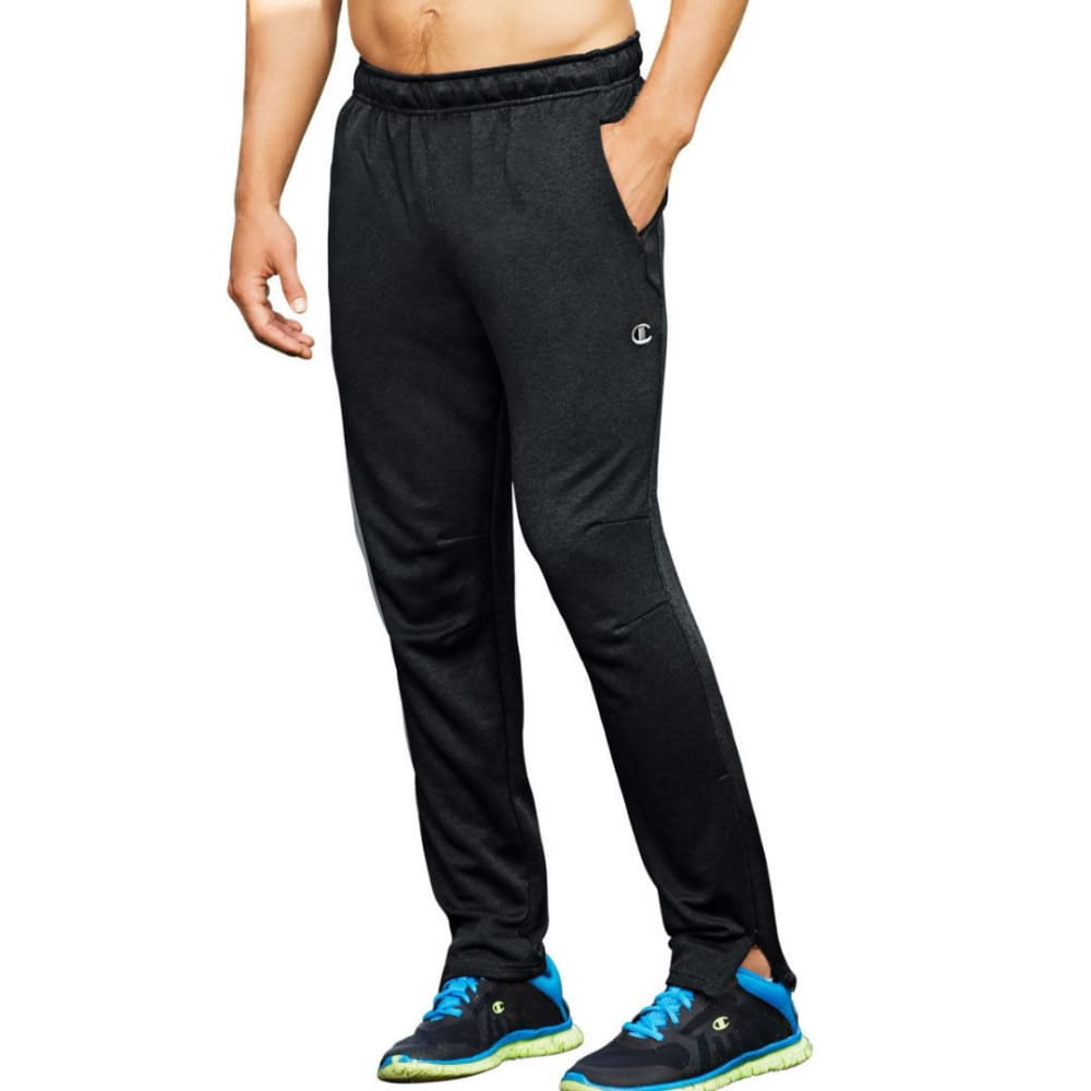 CHAMPION Men's Cross Train Pants - BEST BLACK-01M