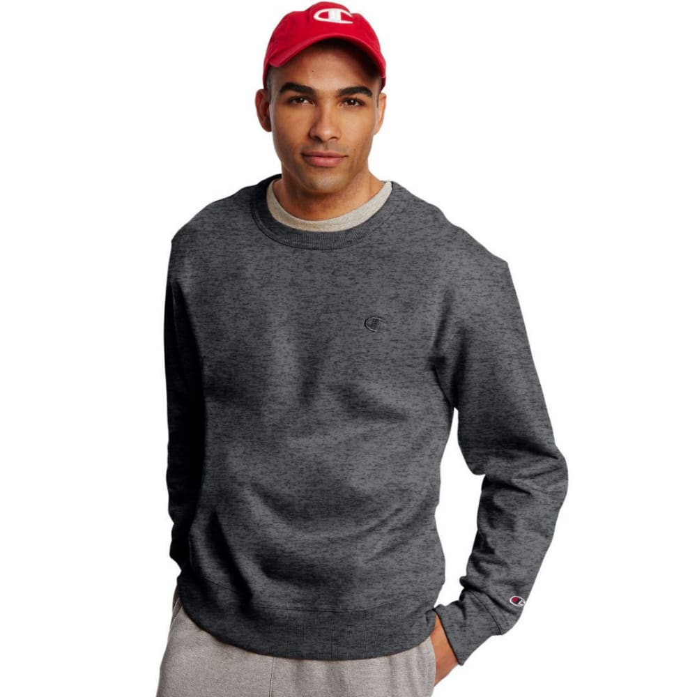 CHAMPION Men's Powerblend Fleece Crewneck Pullover S