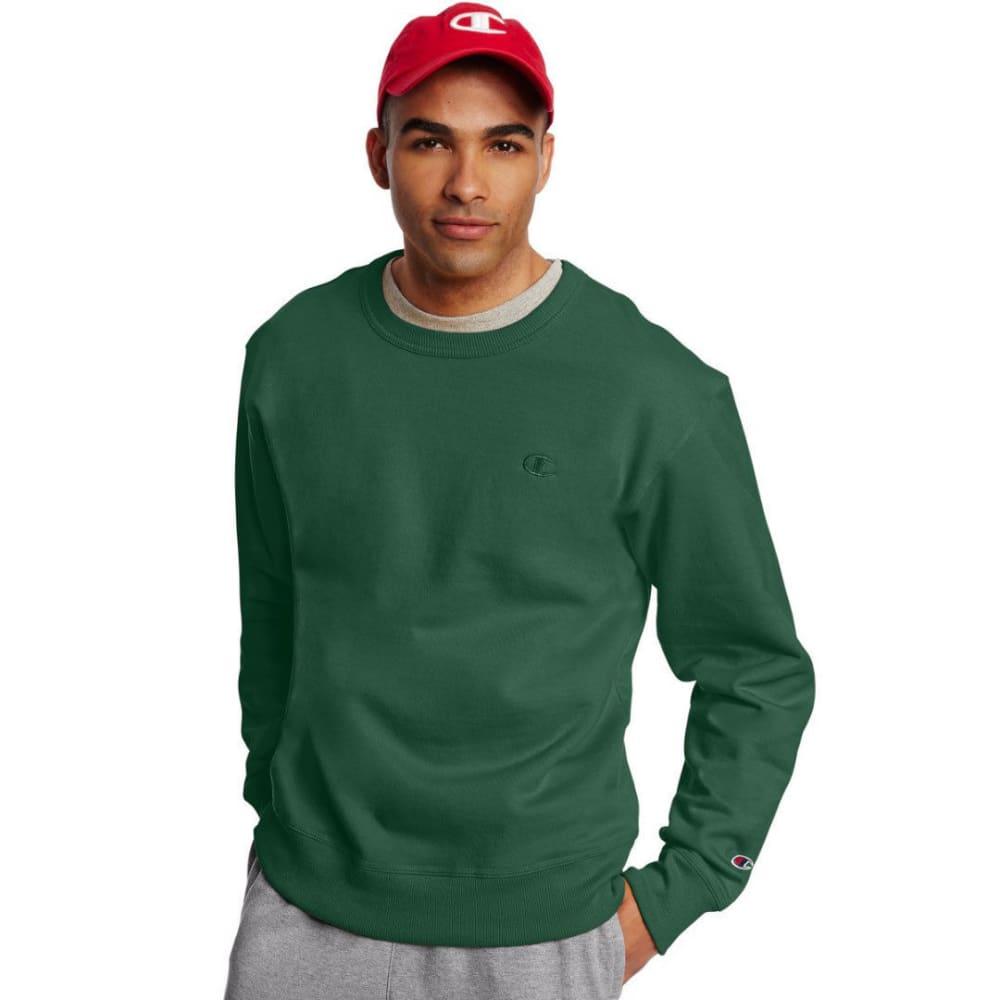 CHAMPION Men's Powerblend Fleece Crewneck Pullover S