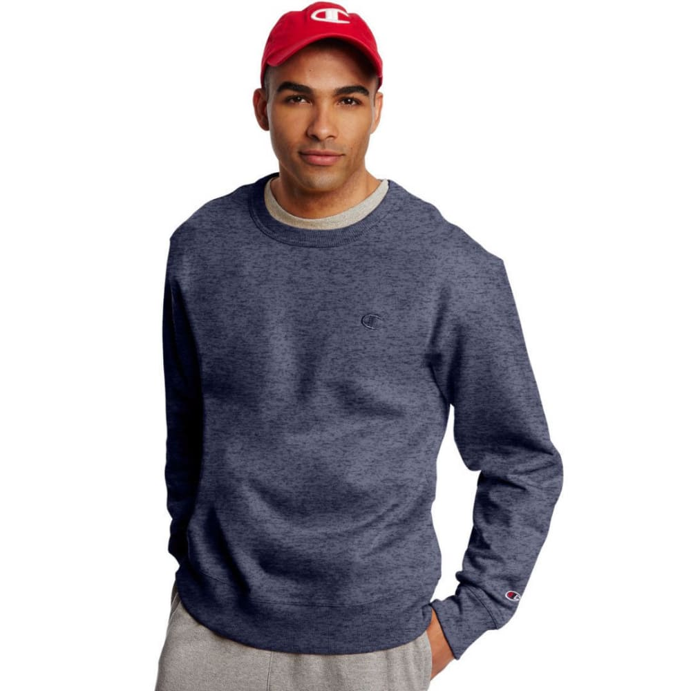 CHAMPION Men's Powerblend Fleece Crewneck Pullover M