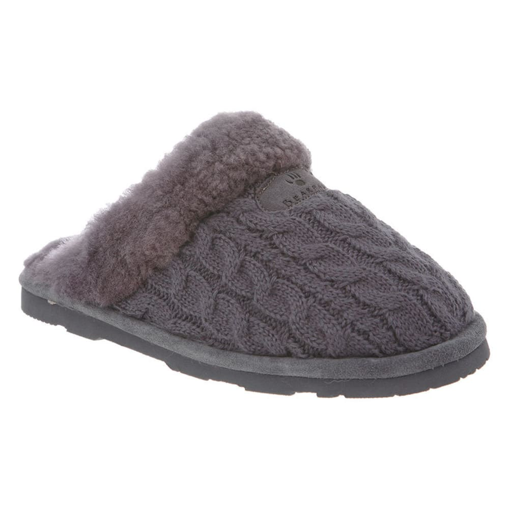 BEARPAW Women's Effie Slippers - CHARCOAL