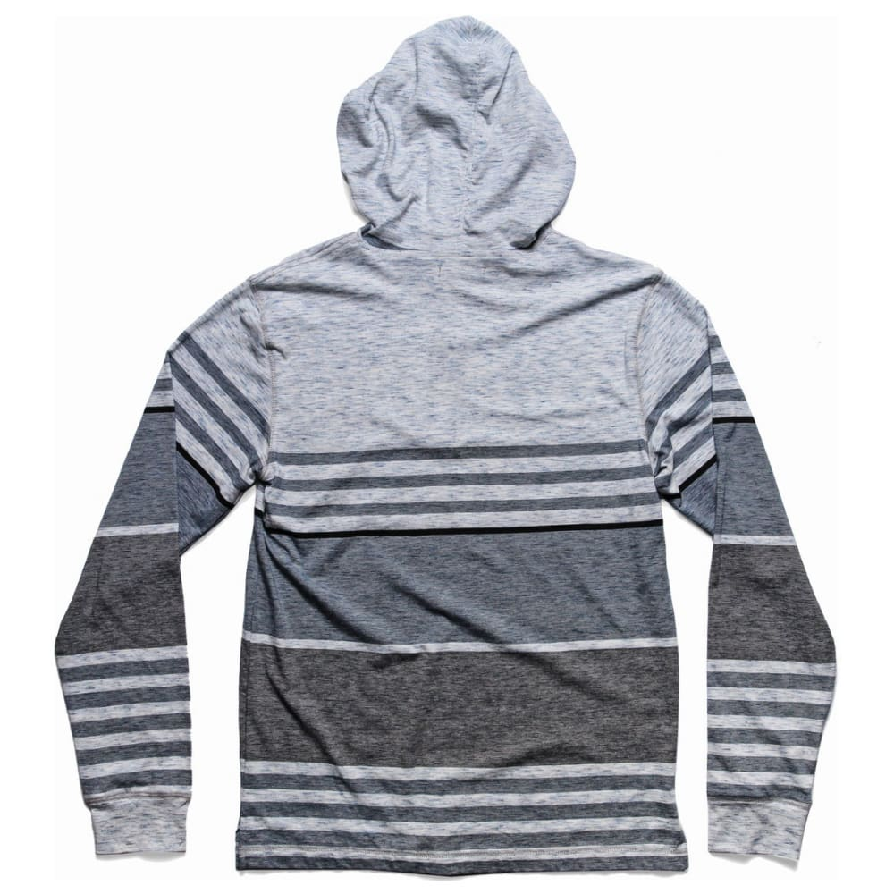 OCEAN CURRENT Boys' Giles-Skywalker Striped Jersey Popover Hoody - SKYWALKER