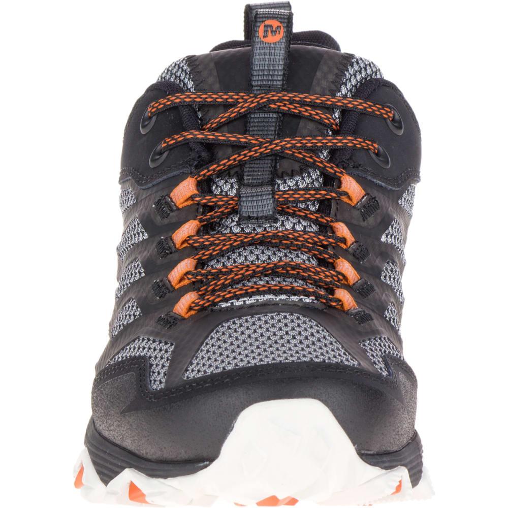 MERRELL Men's Moab FST Waterproof Wide Sneaker, Black - BLACK