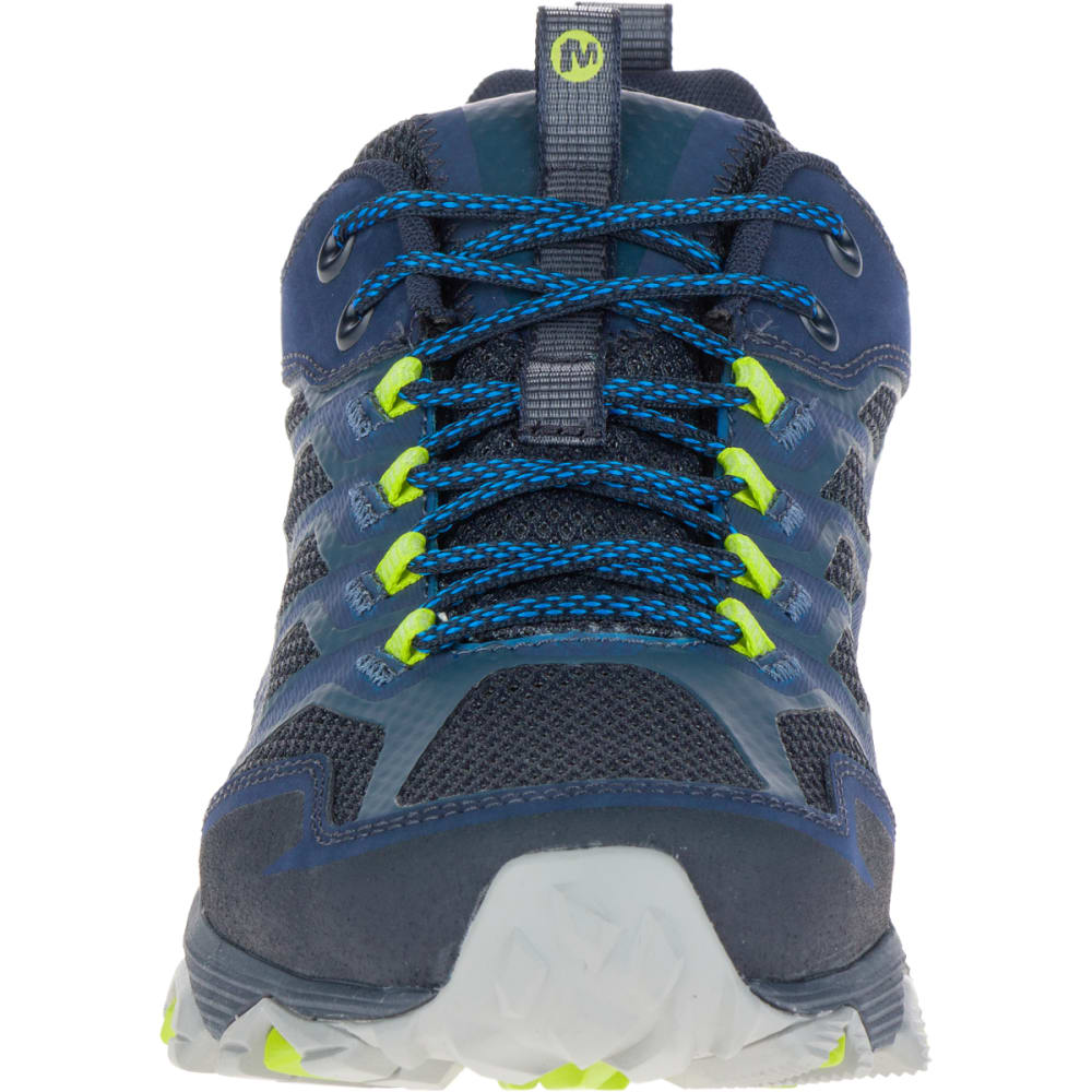 MERRELL Men's Moab FST Waterproof Sneaker, Navy - NAVY