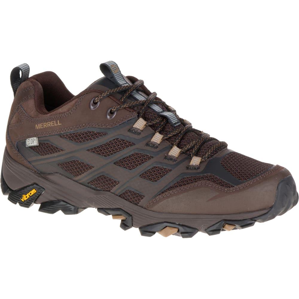 MERRELL Men's Moab FST Waterproof Sneaker, Brown - BROWN